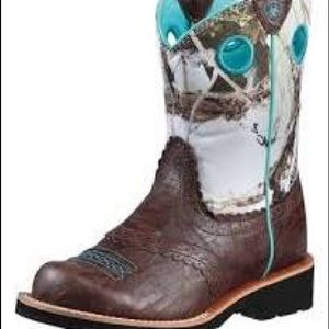 Ariat Fatbaby women's pull on boots new Sz 6.5